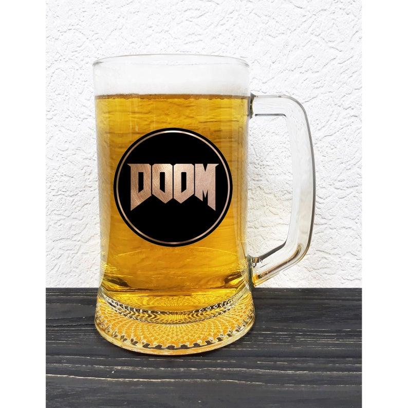 Doom Beer Stein