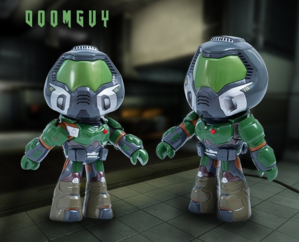 Doomguy Figure