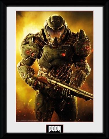 Doom Praetor Suit Poster